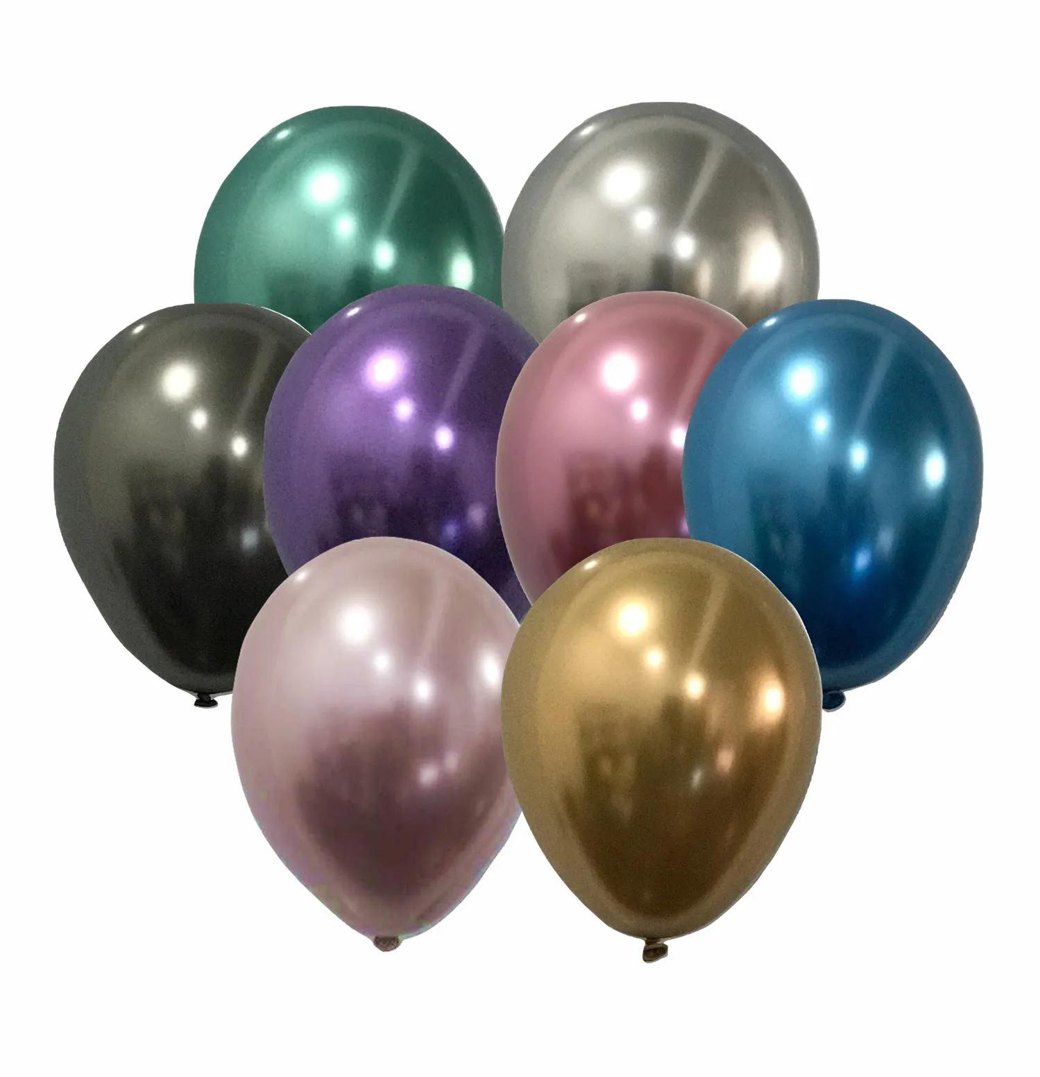 Balão São Roque Metalizado N°11 C/25un Sortido
