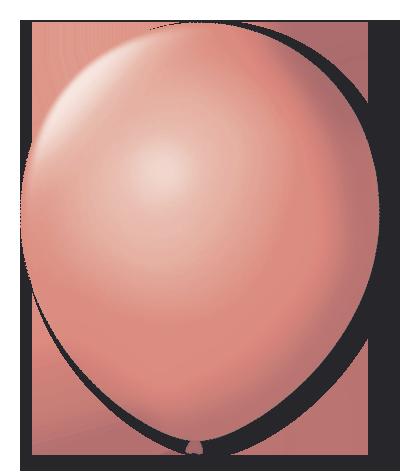 Balão São Roque N°5 Redondo C/50un Coral