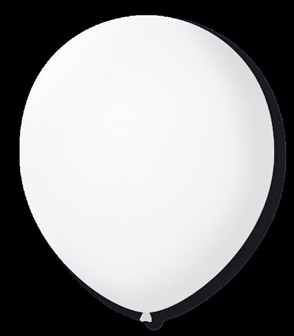 Balão São Roque N°5 Redondo C/50un Cristal Transparente