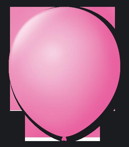 Balão São Roque N°5 Redondo C/50un Rosa Tutti-Fruti