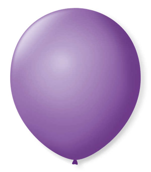 Balão São Roque N°5 Redondo C/50un Roxo Ametista