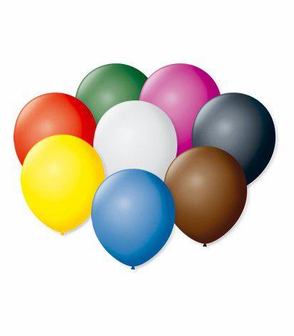 Balão São Roque N°5 Redondo C/50un Sortido