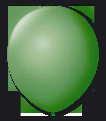 Balão São Roque N°5 Redondo C/50un Verde Bandeira