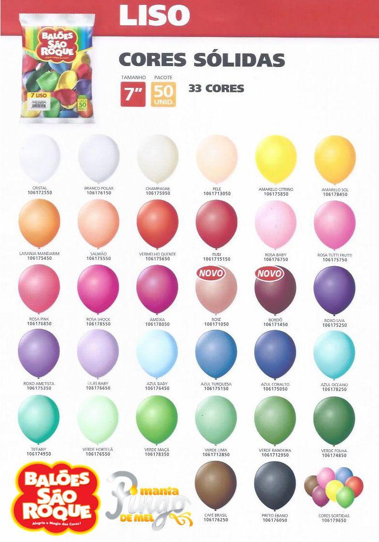 Balão São Roque N°7 C/50un Bordô