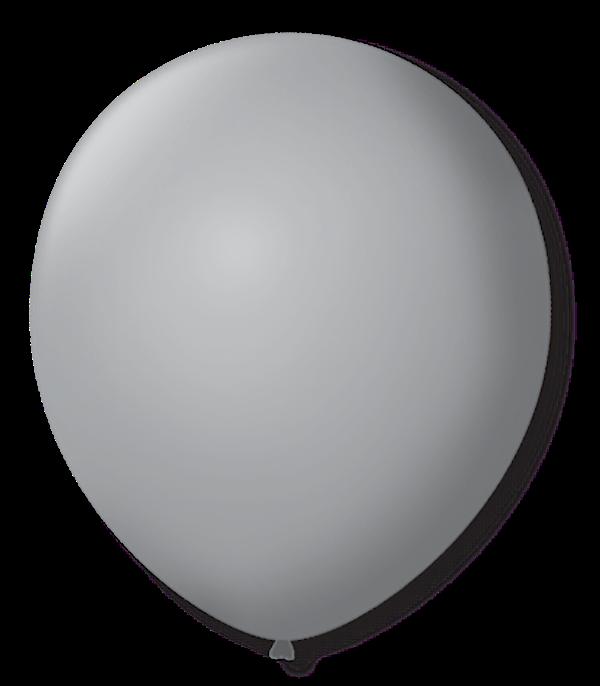 Balão São Roque N°9 C/50un Cinza