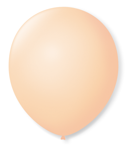 Balão São Roque N°9 C/50un Bege