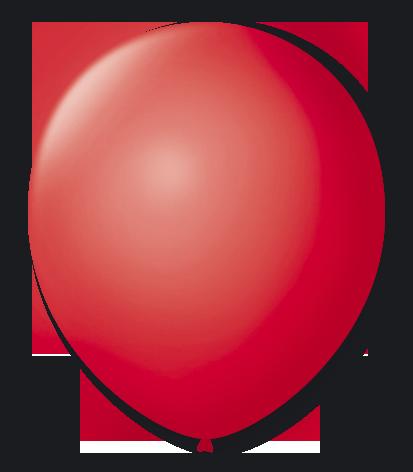 Balão São Roque N°9 C/50un Rubi