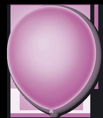 Balão São Roque Neon N°9 C/25un Violeta