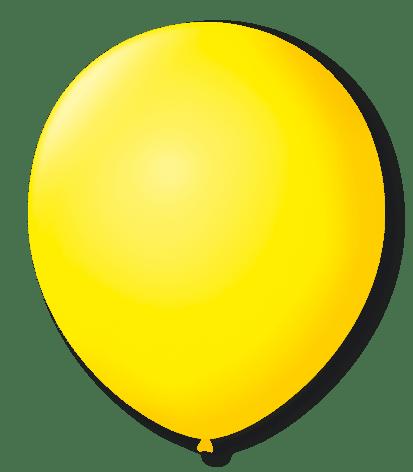 Balão São Roque N°7 C/50un Amarelo Citrino
