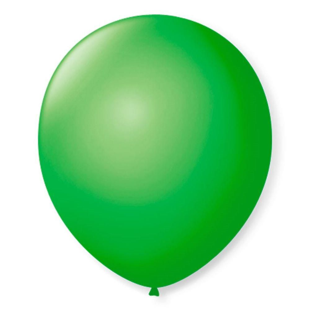 Balão São Roque N°7 C/50un Verde Maçã