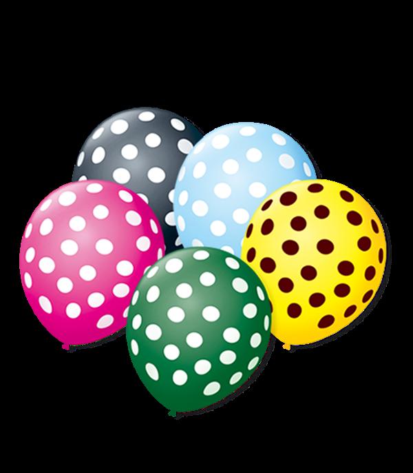 Balão São Roque Póa N°9 C/25un Sortido Com Bolinha