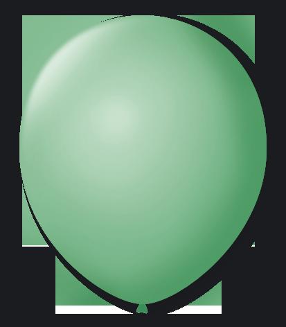 Balão São Roque Redondo N°8 C/50un Verde Lima