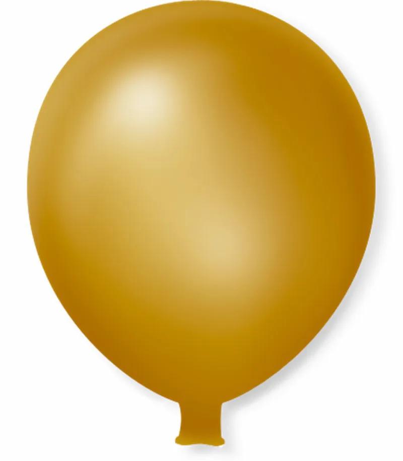 Balão São Roque Super Gigante C/1un Dourado
