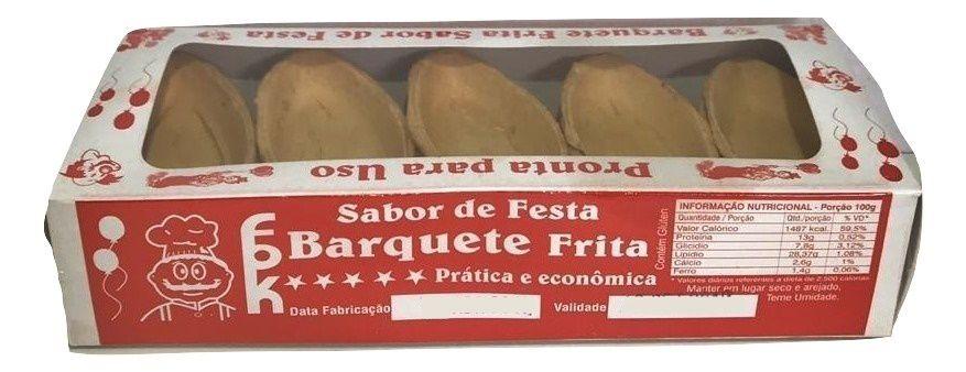 Barquete Frito Para Rechear C/40un - Fpk