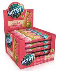 Barra De Cereais Nutry Fruitbar Recheada Goiaba 20gr C/24Un - Nutrimental