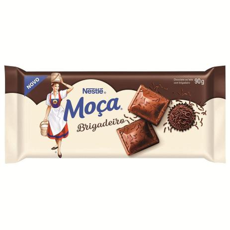 Barra De Chocolate Moça Brigadeiro 90g - Nestlé