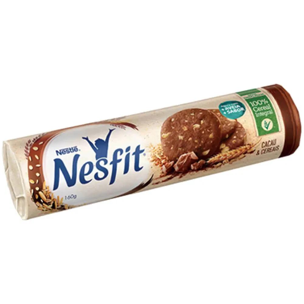 Biscoito Nesfit Cereais e Cacau 160g - Nestlé