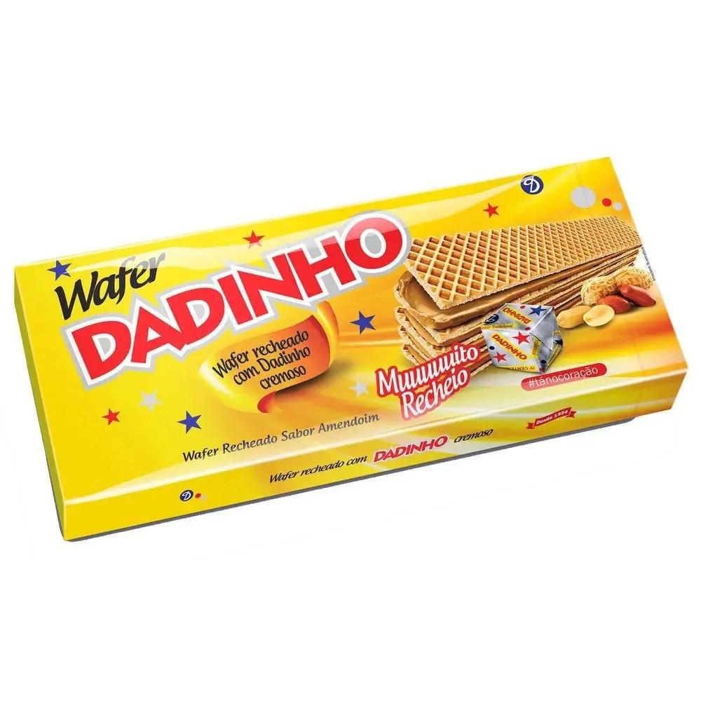 Biscoito Wafer Cremoso Dadinho 130g - Dizioli