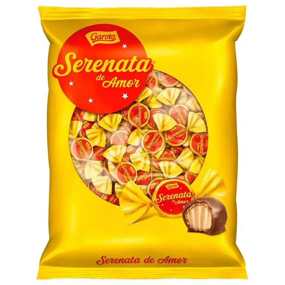 Bombom Chocolate Serenata De Amor 825g - Garoto