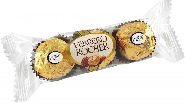 Bombom Ferrero Rocher C/3 - Ferrero