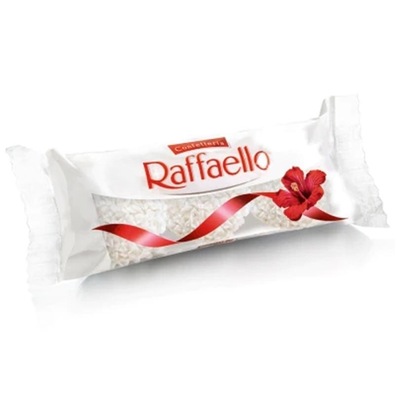 Bombom Raffaello C/3un - Ferrero