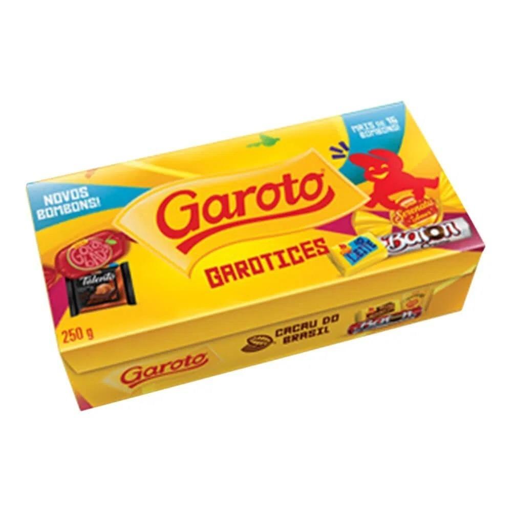 Caixa De Bombom Sortidos 250g - Garoto