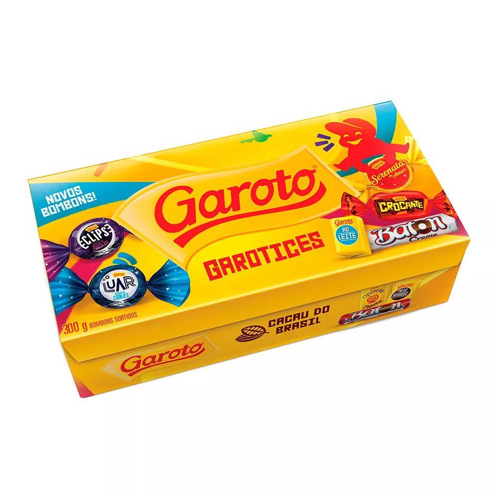Caixa De Bombom Sortidos 300g - Garoto