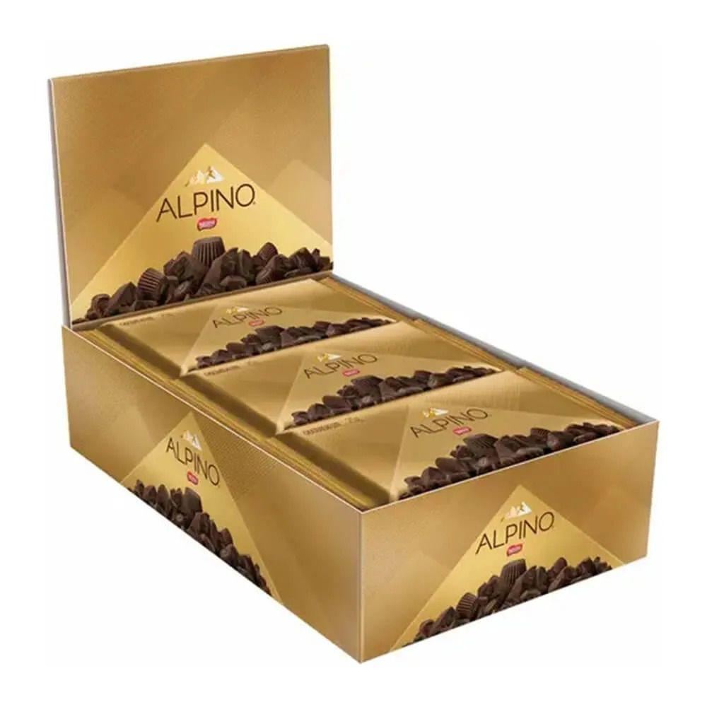 Chocolate Alpino Tablete C/22un 25gr - Nestlé
