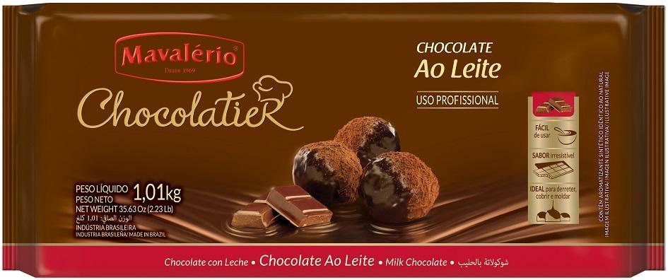 Chocolate Ao Leite Chocolatier 1,01KG Mavalério