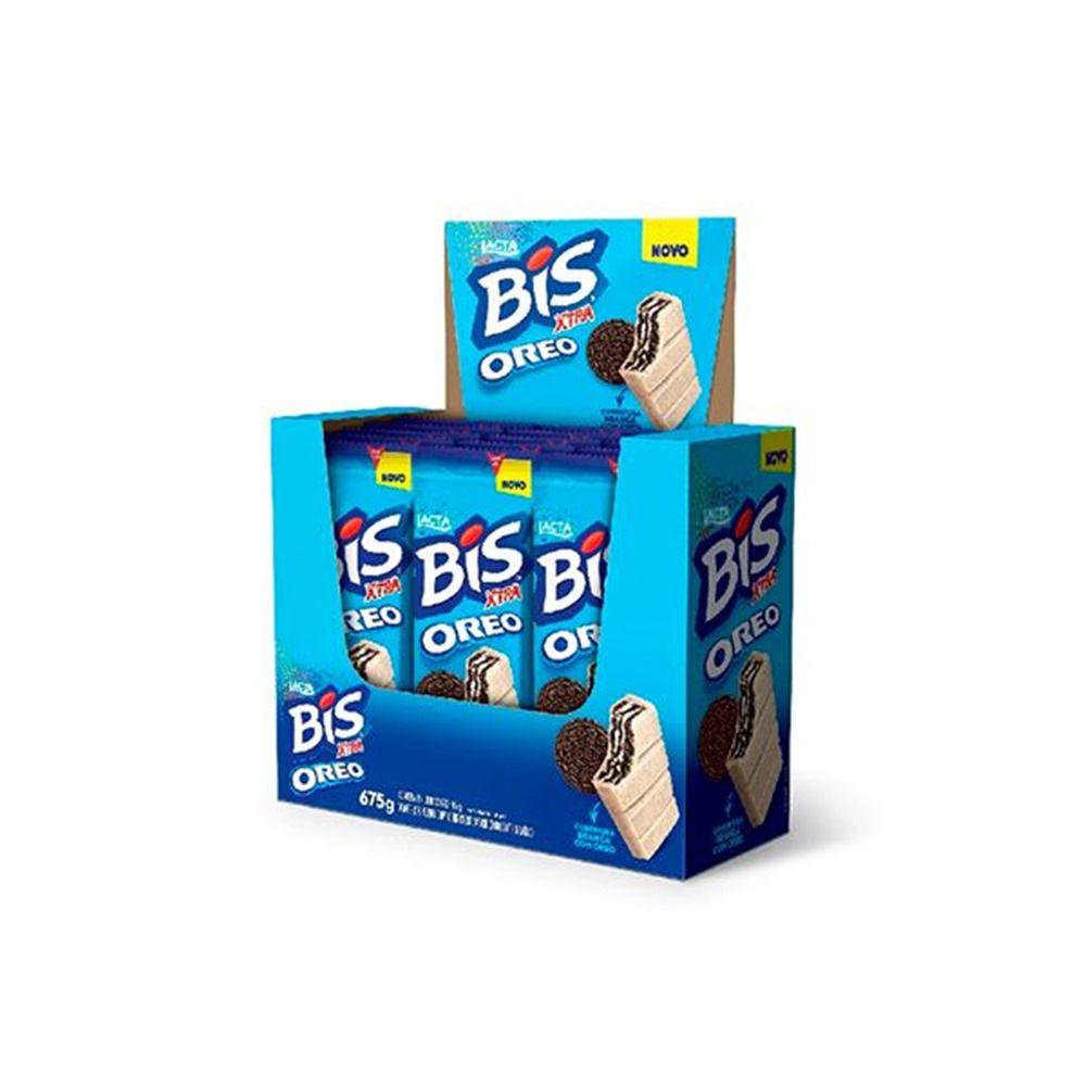 Chocolate Bis Xtra Oreo C/15un 45gr - Lacta