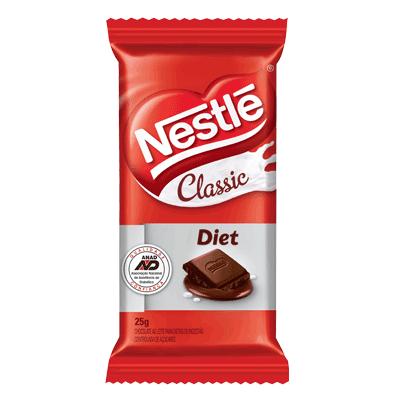 Chocolate Classic Diet Ao Leite C/22un 25gr