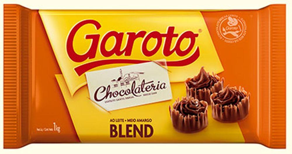 Barra De Chocolate Blend 1kg - Garoto