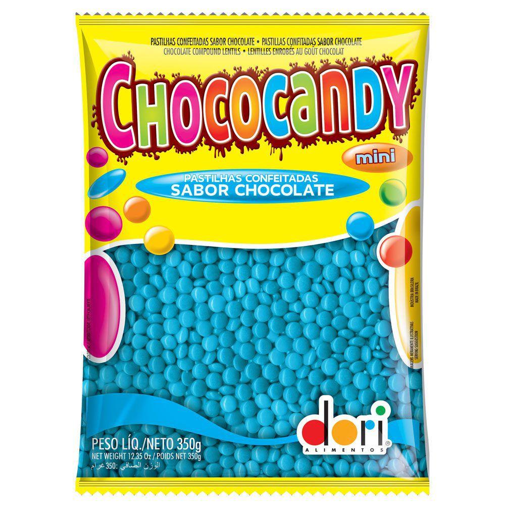 Chocolate Confeito Chococandy Azul 350gr - Dori