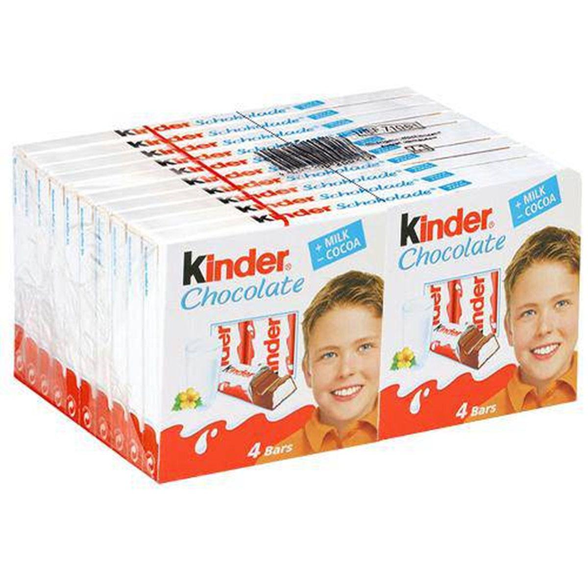 Chocolate Kinder Ao Leite C/20un 50gr - Ferrero
