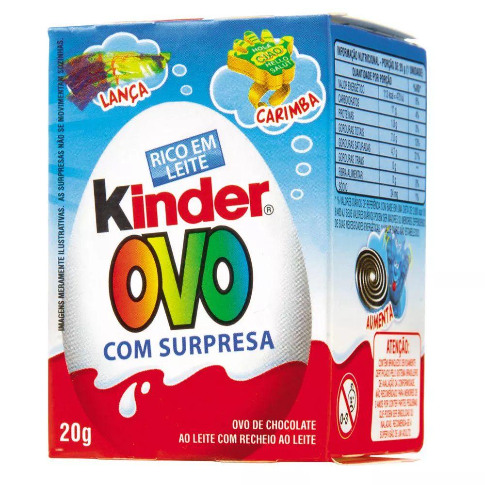 Chocolate Kinder Ovo Meninos 20Gr - Ferrero