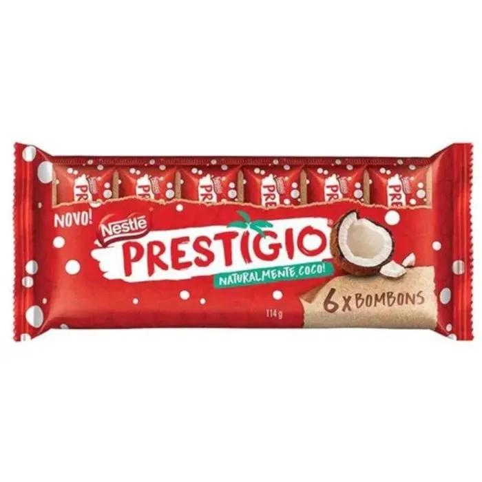 Chocolate Prestígio c/6 - Nestlé