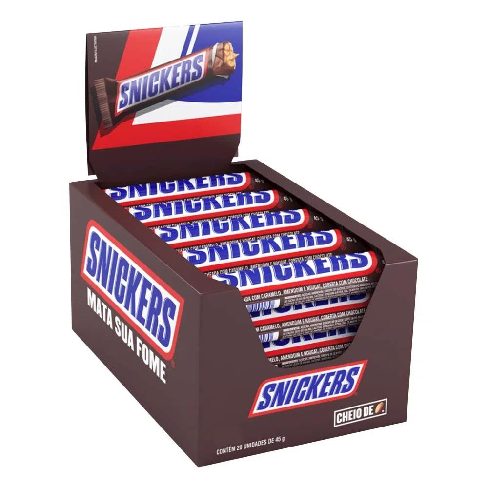 Chocolate Snickers 45gr C/20un - Mars