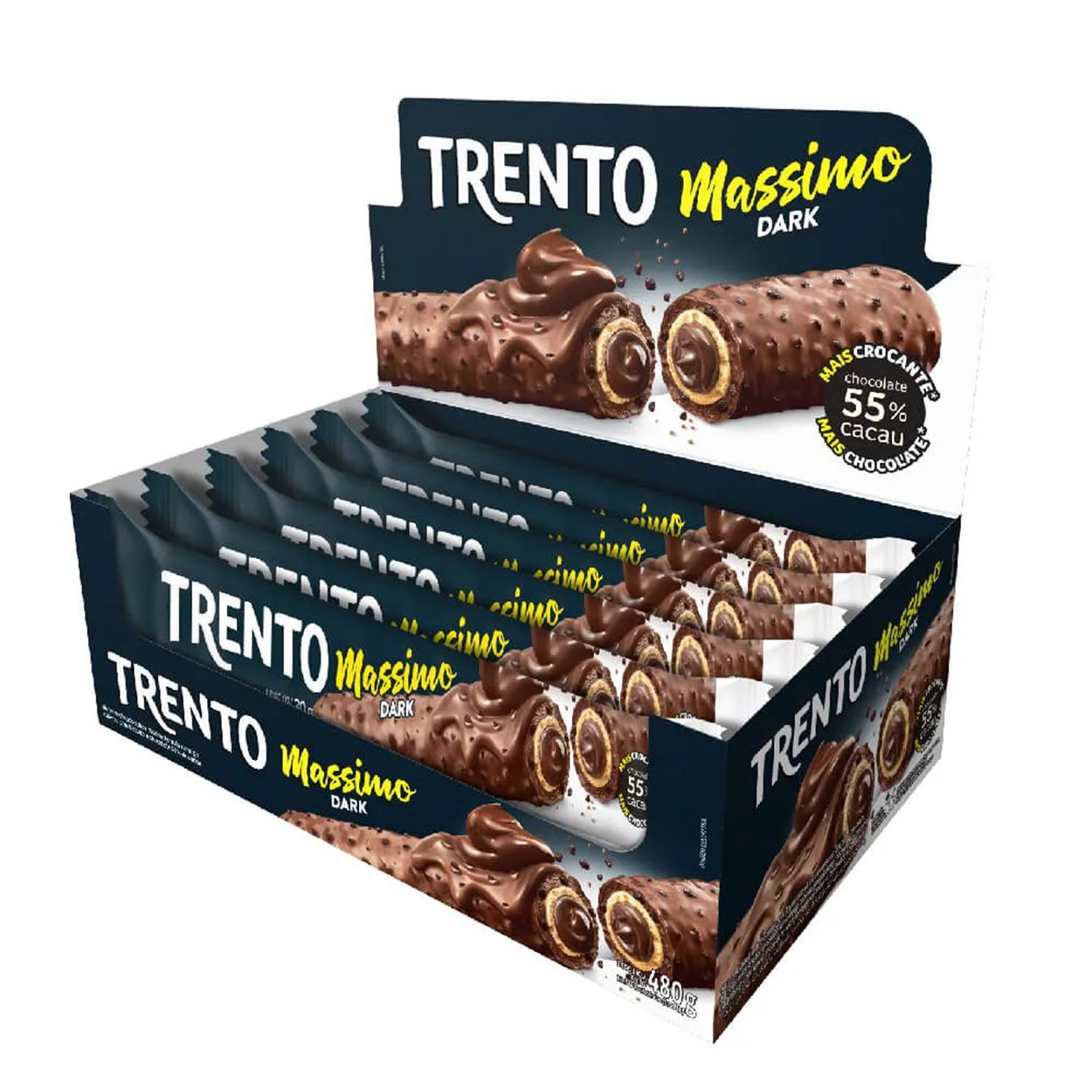 Chocolate Trento Massimo Dark c/16 - Peccin