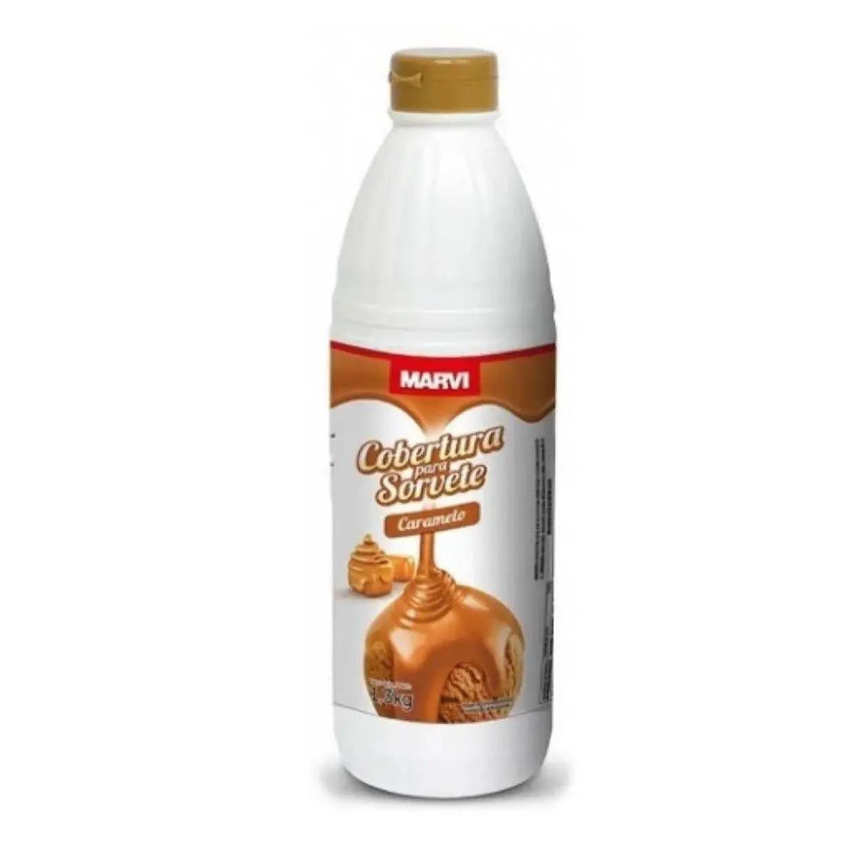 Cobertura Para Sorvete Sabor Caramelo 1,3kg - Marvi