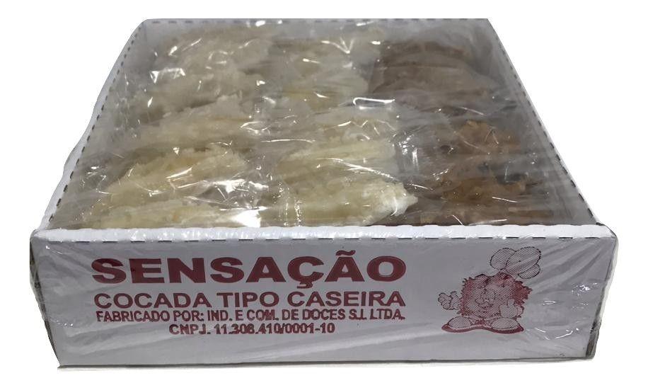 Cocada Tipo Caseira C/50un - Sensação