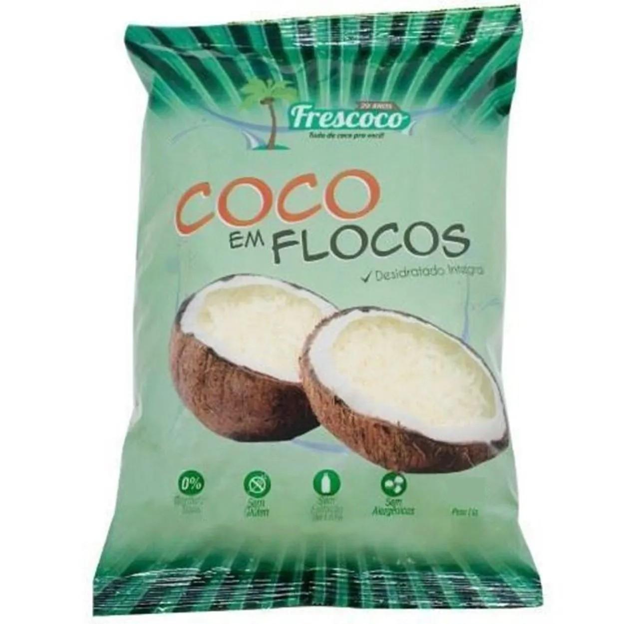 Coco Ralado Integral Flocos 500gr - Fres Coco