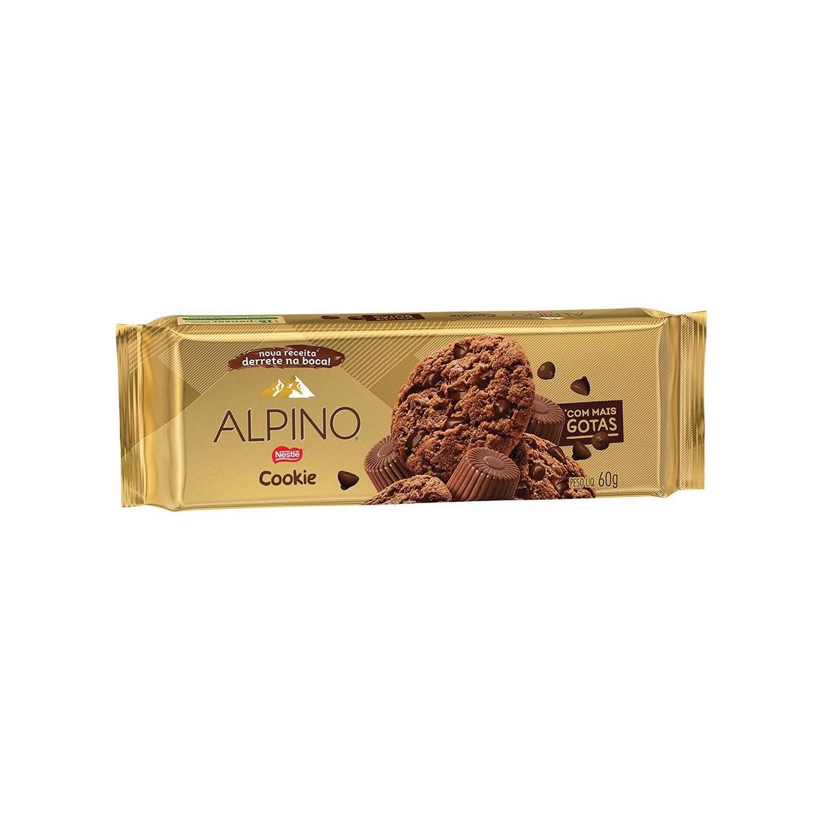 Cookie Chocolate Alpino 60g - Nestlé