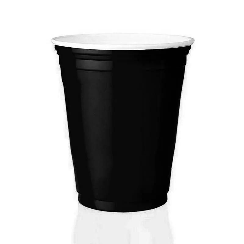 Copo Americano Beer Pong Red Cup 25un Preto