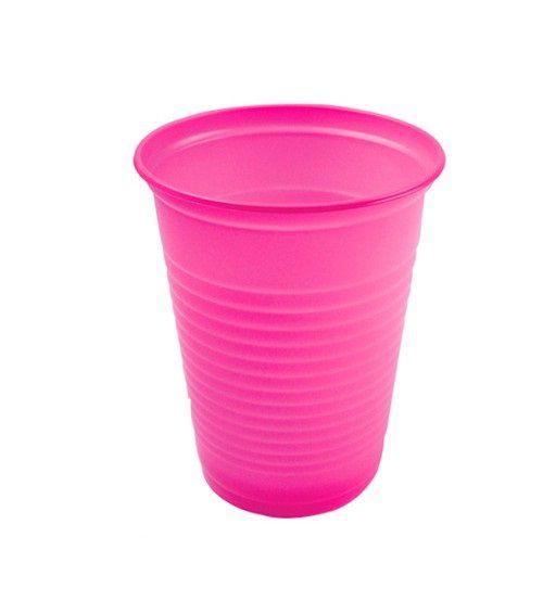 Copo descartável Pink 200ml C/50  Trik-Trik