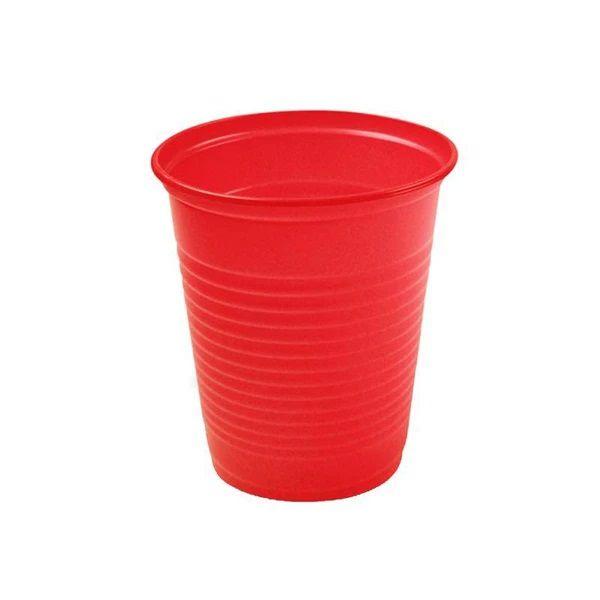 Copo descartável Vermelho 200ml C/50  Trik-Trik