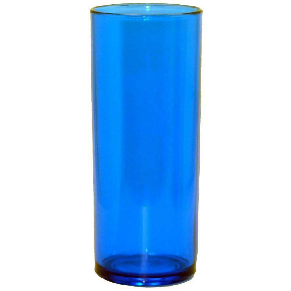 Copo Long Drink 360ml Azul Neon - Descarfest