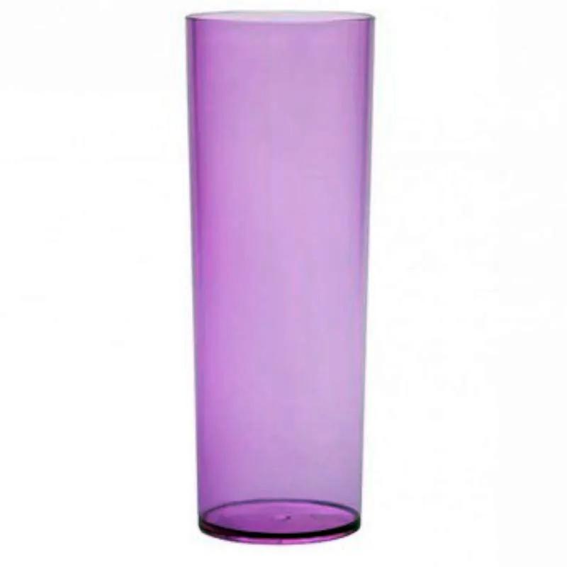 Copo Long Drink 360ml Lilas Translucido - Descarfest