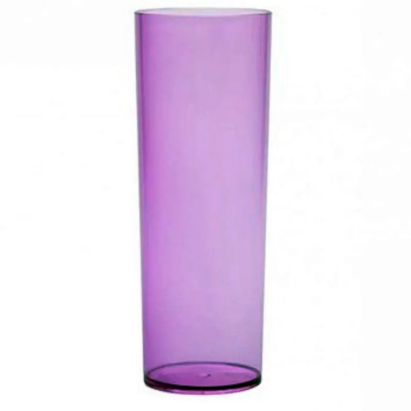 Copo Long Drink 360ml Lilas Translucido - Descarfest
