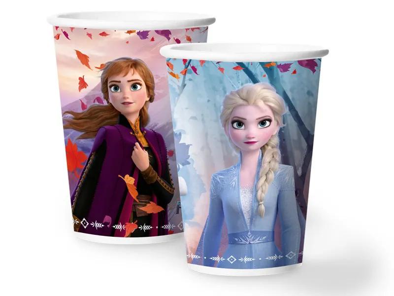Copo Papel 180ml Frozen 2 c/12 - Regina