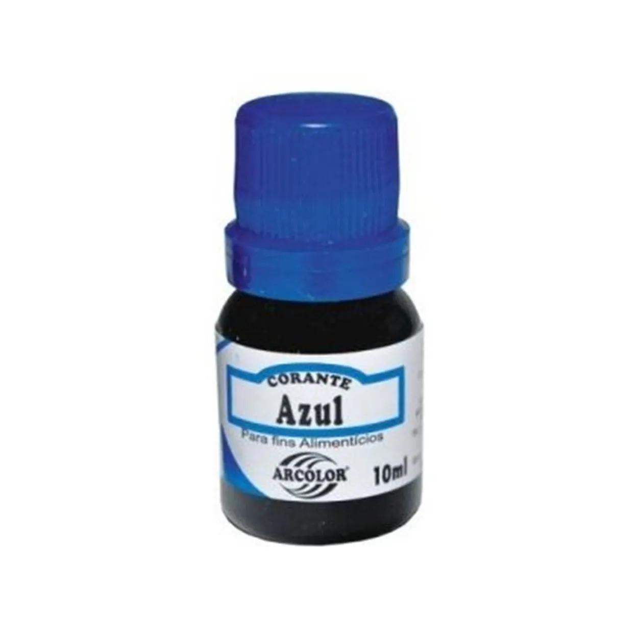 Corante Liquido Azul 10ml - Arcolor